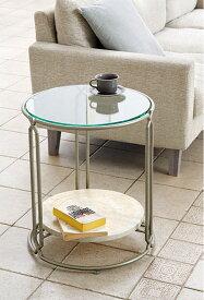 リビングテーブル ガラス 銀 リビング テーブル ガラス サイドテーブル ガラス シルバー 銀色 スチール アイアン 鉄 硝子 レトロ アンティーク 北欧 おしゃれ シンプル モダン