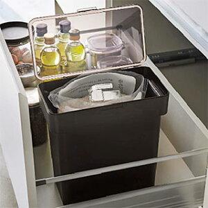 袋ごと入れてオシャレに保存。パッキンでしっかり密閉!キッチン用品 キッチン ラック(米びつ ライス ストッカー お米 収納 約5kg):3y37z6