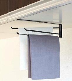 戸棚下 吊り戸 吊り戸棚に取り付けて便利!タオルハンガー タオル掛け タオルレール タオルバー:7y11z4