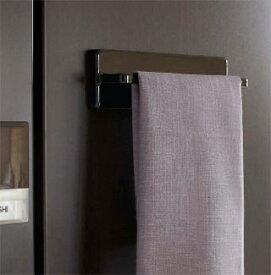 マグネット(磁石)もしくは吸盤あるいはネジで取り付けるタオルハンガー タオル掛け タオルレール タオルバー:7y12z6