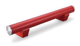 車止め アルミ レッ ド パーキングブロック 車止め ブロック 駐車場 車止め おしゃれ デザイン 車止めブロック カーストッパー パーキングストップ カーストップ アイアン 金属 コンクリート (赤 赤色)