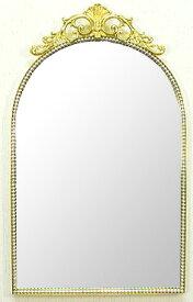 ゴールド 金色 の 鏡 ミラー 壁掛け鏡 壁掛けミラー ウオールミラー:エレガンス a-2043n(フレームミラー 壁掛け 壁付け 姿見 姿見鏡 壁 おしゃれ エレガント 化粧鏡 アンティーク 玄関 玄関鏡 洗面所 トイレ 寝室 )