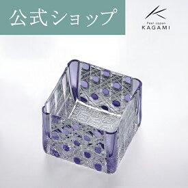 【メーカー直営店】江戸切子カガミクリスタル KAGAMI升シリーズ T723-2616-CMP
