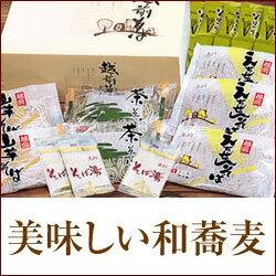 武生製麺 越前そばB【楽ギフ_のし】【福井 お土産】
