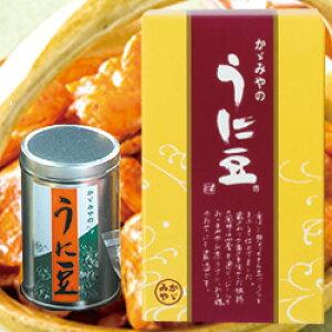 ★うに豆 缶入 100g15-6【あす楽対応】