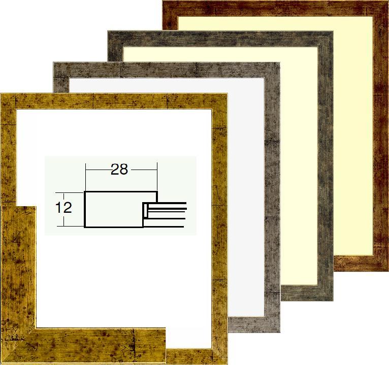 水彩額 デッサン額 5698 八つ切 242x303mm 木製 アクリル付