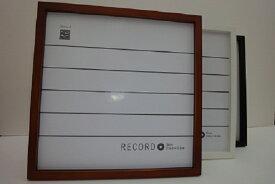 【あす楽】細かい傷がどうしてもあります LPレコード額縁・LPレコードフレーム・ レコードスタンド・ 316mm角  スタンド付き、激安