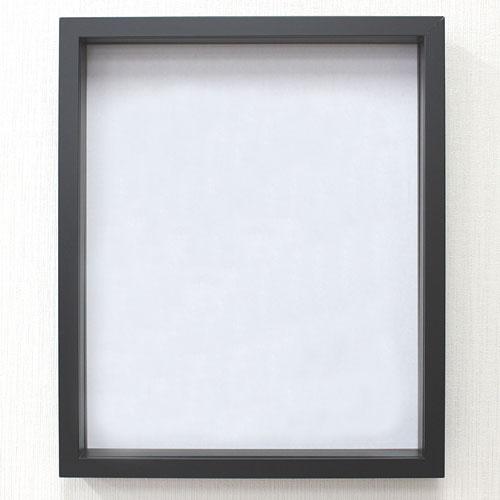 アートBOXフレーム/ウエルカムボード 正方形 額縁 40cm角  9790 400 深型 デッサン額縁 水彩額 正方形