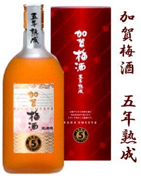石川県は鶴来町の酒蔵 小堀酒造萬歳楽 加賀梅酒 五年熟成 720ミリ