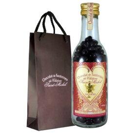 貴腐ワインをタップリ使ったチョコで、葡萄をコーティングした素晴らしい香りのチョコ♪ショコラ・ド・ソーテルヌ専用バッグ入 190g4個以上い求めで送料無料です!