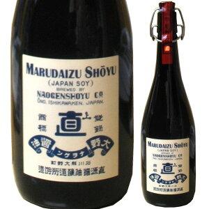 ナオゲン 直源醤油【もろみの雫】丸大豆醤油最高級の味わいです 720ミリ