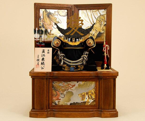 五月人形 佳月 K-16 直江兼続公 着用収納飾り 端午の節句 5月人形