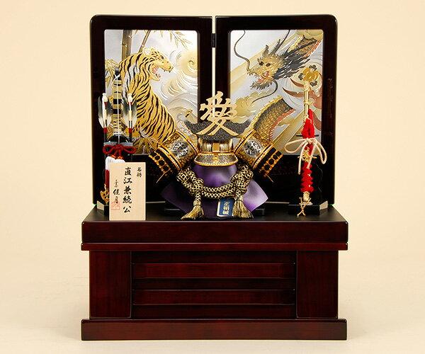 五月人形 佳月 K-22 直江兼続公 収納飾り 端午の節句 5月人形