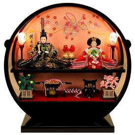 雛人形 ひな人形 K121コンパクト 佳月 かげつ 雛人形 雛 ケース飾り 雛 雛名匠・逸品飾り 高級品 即日発送