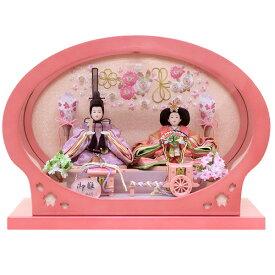 雛人形 ひな人形 K114 コンパクト 佳月 かげつ 雛人形 雛 ケース飾り 雛 親王飾り 雛名匠・逸品飾り 高級品 即日発送【2020年新作】