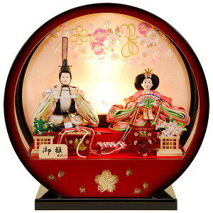雛人形 ひな人形 K117 コンパクト 佳月 かげつ 雛人形 雛 ケース飾り 雛 親王飾り 雛名匠・逸品飾り 高級品 即日発送【2021年新作】