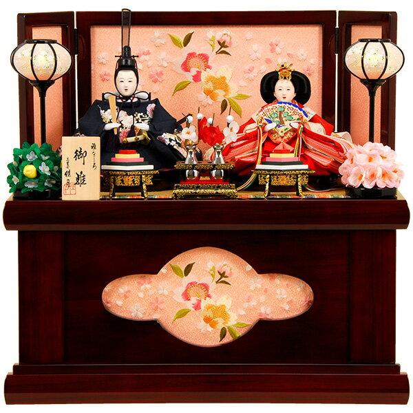 雛人形 ひな人形 K301 コンパクト 雛人形 コンパクト収納飾り 雛 親王飾り 雛 名匠・逸品飾り 佳月 かげつ ひな (2018年度新作雛人形)即日発送