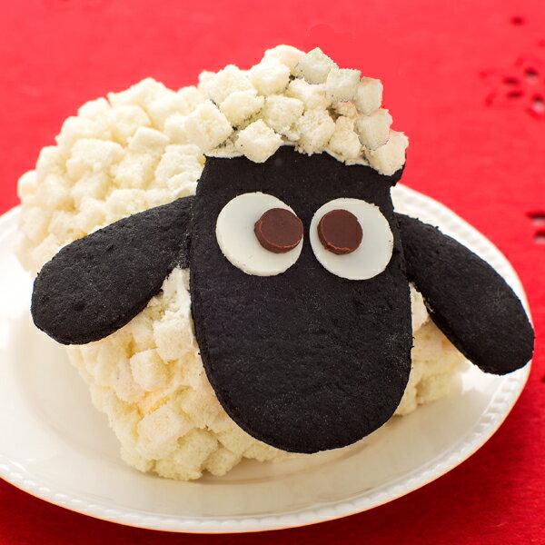 こどもの日 誕生日 キャラクターケーキ お菓子ひつじのショーンケーキ送料無料 ※一部地域を除く 生クリームロールケーキ お取り寄せ 手土産 誕生日お祝 スイーツ 限定 クッキー