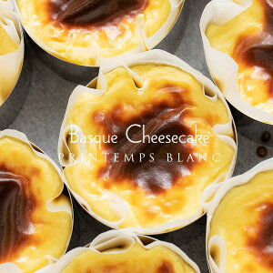 ハロウィン お菓子 プランタンブランの バスク風チーズケーキ3号サイズ 直径約9cm スフレ メッセージカードプレゼント 北海道産クリームチーズ 練乳バスクチーズケーキ ケーキ誕生日 お