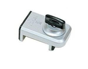 窓用補助錠 ウインドロック 二重安全装置付 上枠・下枠兼用 シルバー 鍵 カギ アルミサッシ 防犯