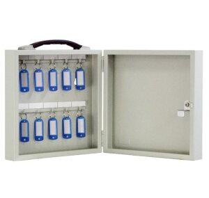 鍵の保管・管理 FUKI iNAHO キーボックス10本掛け 携帯持運び・壁掛固定の兼用(カギ付き)