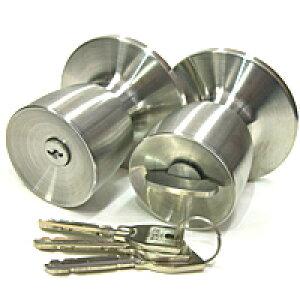 MIWA 鍵 ノブ ドアノブ 鍵付き シリンダー錠 シリンダー miwa 取替え 美和ロック 鍵 シリンダー 交換 U9-HMD-1KNB U9シリンダーMIWA-HMタイプ 交換用ノブ