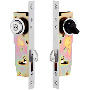 MIWA 鍵 シリンダー 交換用シリンダー 引戸錠 MIWA SL77-1U9キー3本付引戸錠 交換 玄関 MIWA 美和 物置 鍵