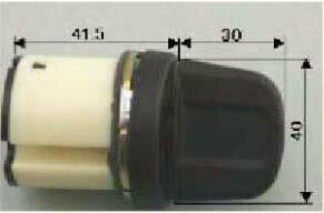 【A-5】トステム(TOSTEM=現LIXIL)ボルトNX標準サムターン U-shin SHOWA用 玄関ドア内側のツマミ(サムターン)の交換・取替え ブラック色