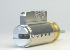 【GOAL】MX用の玄関 鍵(カギ) 取替え用シリンダー《2》【MUL-T-LOCK】(マルティロック)シリンダータイプ【合鍵作成時に必要なマルティカード付】イスラエル製■ドア厚み35〜40mm対応品■左右共