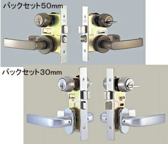 SHOWA CL-50 lever handle door lock set NX key cylinder specifications lever handle shapes UL5 left hand Union type