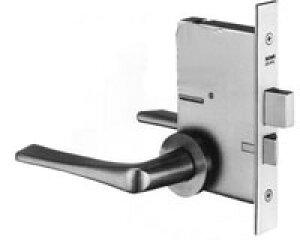 MIWA LAMA用 玄関 鍵(カギ) 交換 取替え錠ケース+レバーハンドル51型【送料無料】