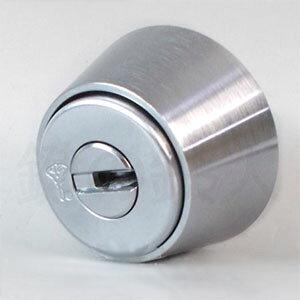 【4】MIWA MM鍵(カギ)の交換MUL-T-LOCKシリンダー【マルティカード付き】シルバー色【ドアの厚み33〜41mm対応】【標準キー3本付き+合鍵1本付き】【送料無料】