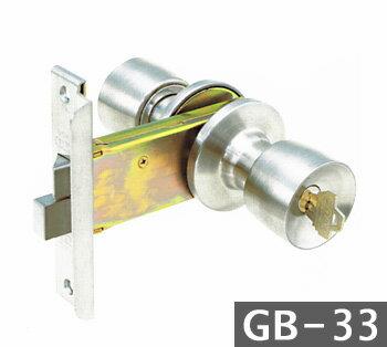 GOAL UC GB-33 鍵(カギ) 交換 取替え三協アルミ 玄関錠 ドアノブ■左右共用タイプ■