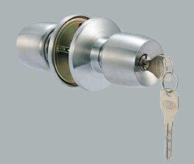 【3】MIWA・GOAL・SHOWA・ALPHA・AGENT・AGEに対応ユーシン・ショウワDAC 万能 玄関 勝手口 鍵(カギ) 交換 取替え用ドアノブ(玉座)NXシリンダー仕様■ドアの厚み 25mm〜43mm対応■標準キー3本+合鍵1本付き■左右共用タイプ【送料無料】