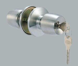 【3】MIWA・GOAL・SHOWA・ALPHA・AGENT・AGEに対応ユーシン・ショウワDAC 万能 玄関 勝手口 鍵(カギ) 交換 取替え用ドアノブ(玉座)NXシリンダー仕様■ドアの厚み 25mm〜43mm対応■標準キー3本+合鍵1本