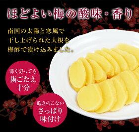 【送料無料】「水溜食品漬物島津梅(寒干沢庵)10本セット」九州鹿児島水溜食品
