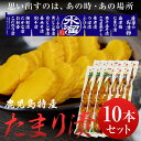 漬物 水溜食品 たまり漬 10本セット 九州 鹿児島 水溜食品