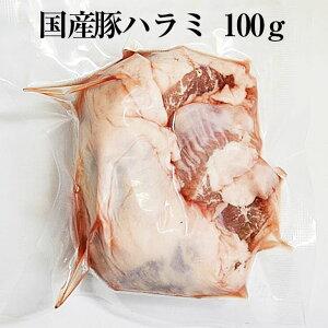 国産豚 ハラミ 約100g × 5パック やきとり 焼き鳥 焼鳥 豚肉 豚 ボイル済 モツ煮込み もつ鍋 もつ 真空 焼肉 冷凍 国産 おつまみ セット バーベキュー ギフト プレゼント 産地直送 送料無料 南