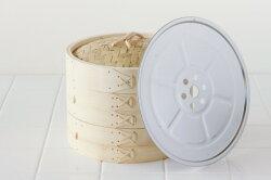 竹中華せいろステンレス釘留め21cm(外径)ステンレス蒸し板セット