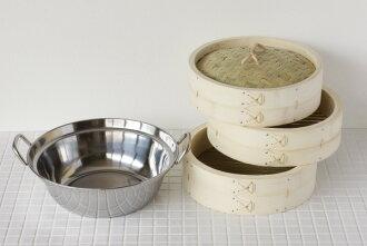 竹中国 Seiro 不锈钢指甲钳 27 厘米 (直径) 不锈钢锅套底座直径 19 厘米 (大约)