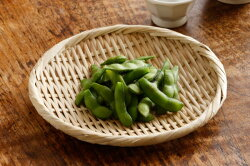 特選丸盆ざる(直径約21cm)(竹ざる水切りザル干し野菜)