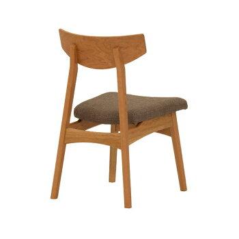 北欧モダンな天然木ブラックチェリー&ウォールナット無垢材のダイニングチェアー食卓椅子・国産・日本製・オーダーメイド・ホワイトオーク