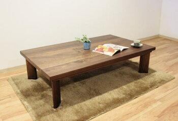 W150xD90・6人用・シンプル・モダンリビングこたつ天然木アルダー無垢材・木の家具・木製