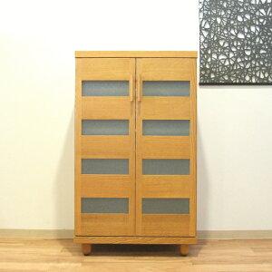 天然木オーク材使用のナチュラルなシューズボックス木製自然塗料オイル仕上げ・国産・日本製ロー&ハイタイプ木製脚付きアジャスター付き別注脚高可21足収納