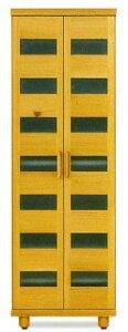 天然木オーク材使用のナチュラルなシューズボックス木製自然塗料オイル仕上げ・国産・日本製ロー&ハイタイプ木製脚付きアジャスター付き別注脚高可25足収納