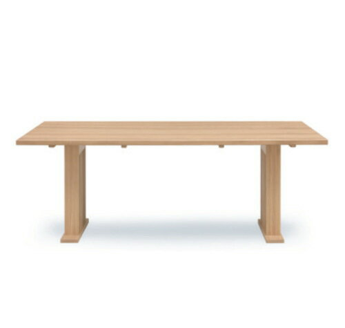 天然木タモ無垢材・巾剥ぎダイニングテーブル木製格子デザイン食卓テーブルW140cmW180cm2サイズ格子デザイン長方形インポートお買い得商品・単品販売
