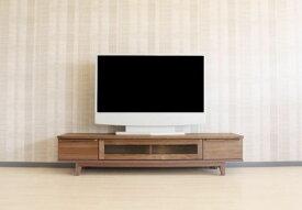 【送料無料】シンプル・モダンなウォールナットorハードメープル材のお買得な国産TVボード180cmシリーズ商品オイル塗装仕上げ木製・天然木・無垢材使用