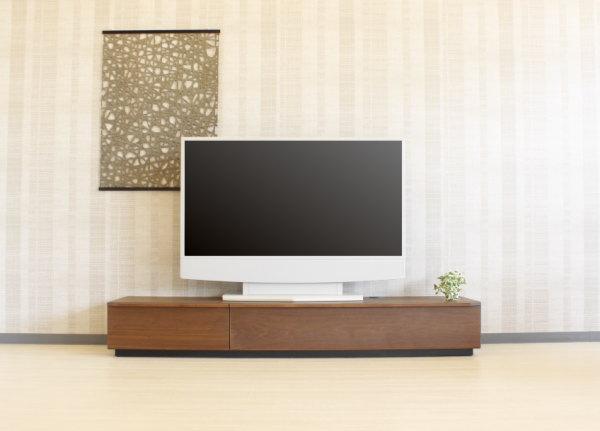 強化紙+突き板仕上げのきれいな仕上げのテレビボードウォールナット&オーク材使用ロータイプデザイン国産素材や仕様高さ違いもありますエコ仕様F☆☆☆☆日本製