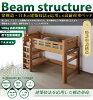 (不用力分離成載荷重量900kg安心的閣樓床搖晃的防震結構)beamstructure閣樓床