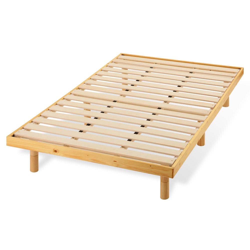 おしゃれ ベット ベッド ロータイプ セミダブル 桐 きり キリ すのこベッド スノコベッド すのこベット ベッドフレーム 木製ベット 寝具 パイン 天然木製 睡眠 子供部屋 キッズ ナチュラル カントリー 送料無料